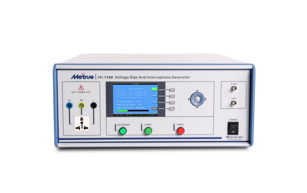 ITI-1100 Voltage Dips And Interruptions Generator